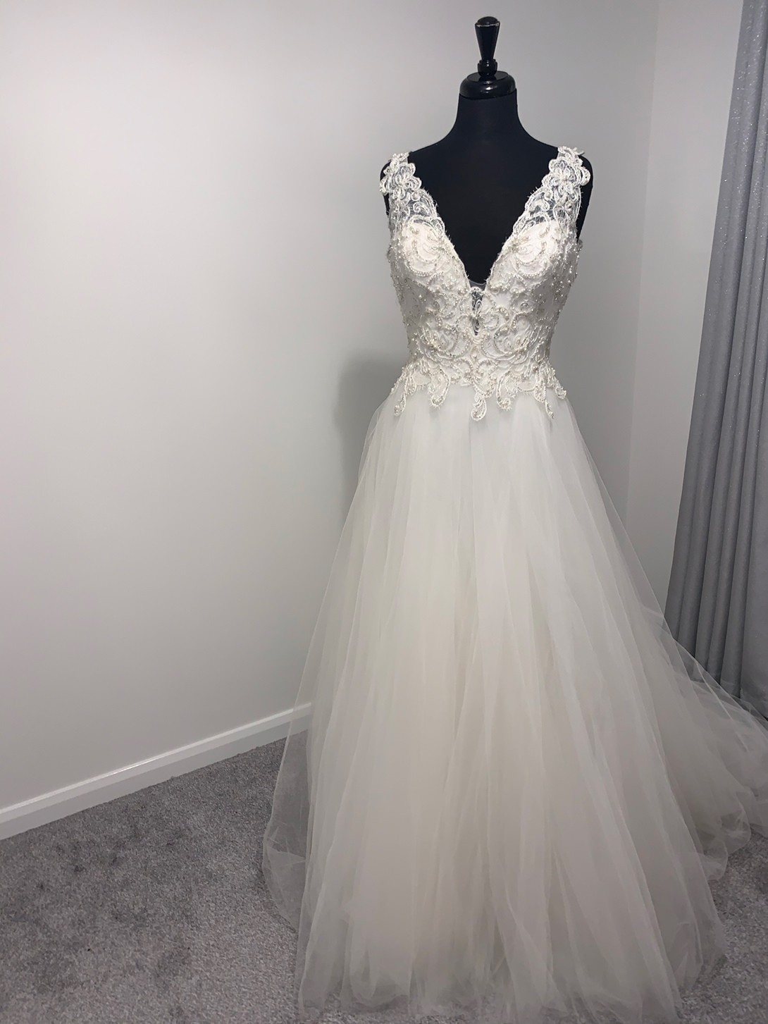 Enzoani Blue wedding dress (Josetta) image 1