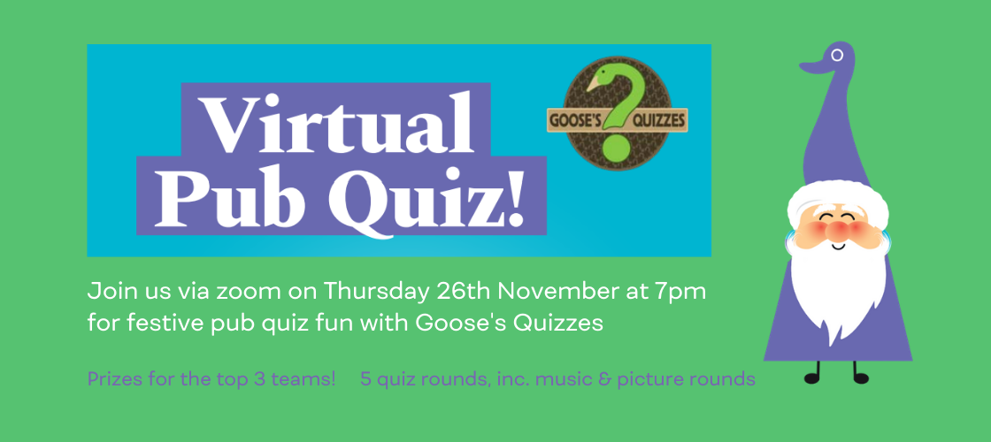 Hospice Home Pub Quiz, November 26th at 7pm image