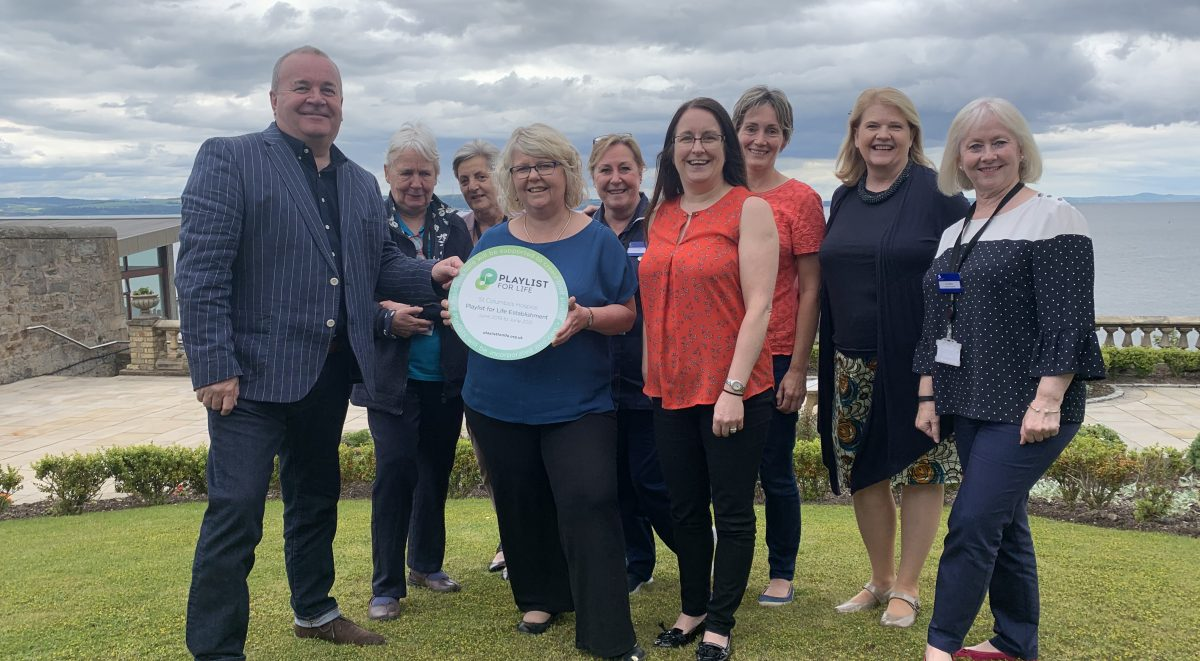 St Columba's Hospice achieves Playlist for Life Accreditation! image